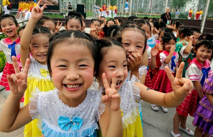 В китае отлавливают торговцев детьми