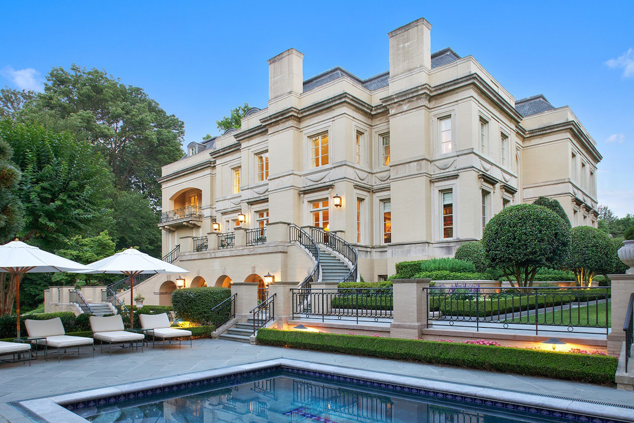Washington, D.C., Mansion Sells for Record $18 Million