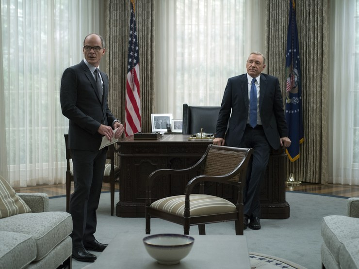 Netflix 'House of Cards' Set Design and Filming Locations