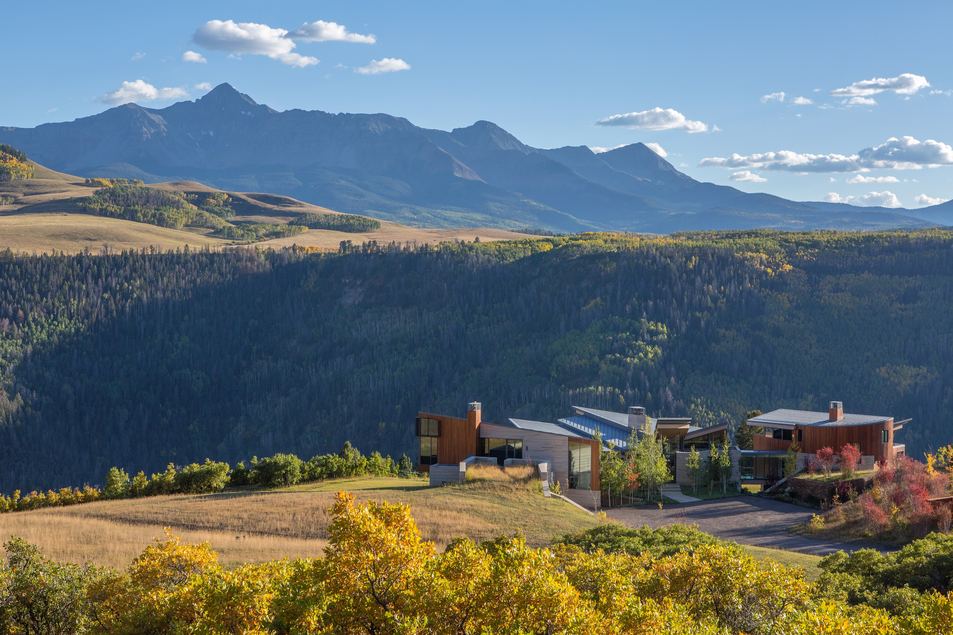 A $32.5 Million Glass House on the Edge of a Cliff in the Rocky Mountains