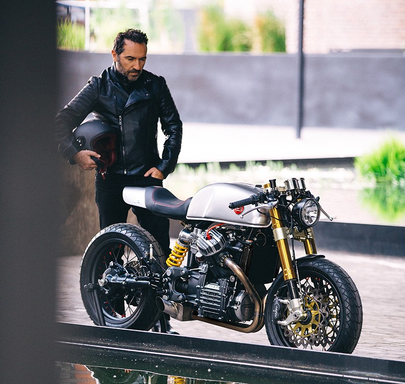 Interview with designer Sacha Lakic founder of custom shop Blacktrack motors