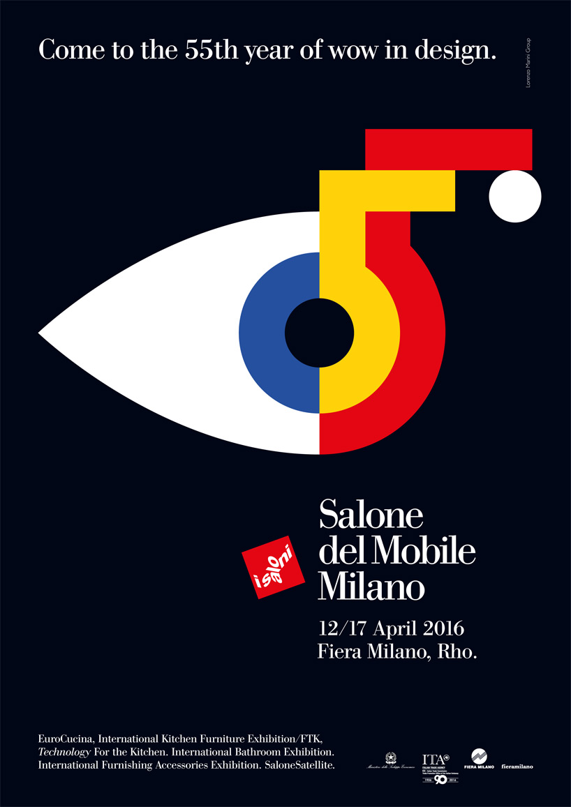 Salone del mobile Milano 2016 – come to the 55th year of wow in design