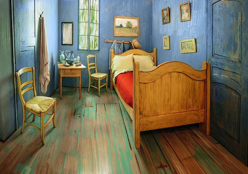 Spend the night in Van Gogh's bedroom, available on Airbnb