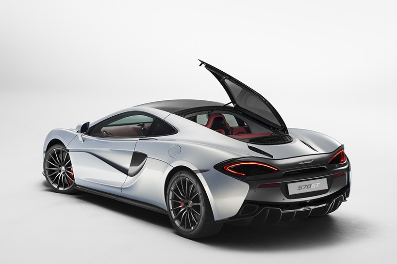 McLaren announces practical 570GT supercar for 2016 Geneva Motor show