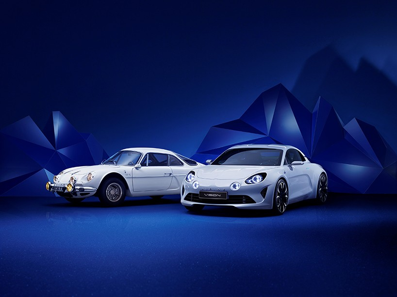 Renault reinstates alpine division with vision sports coupé