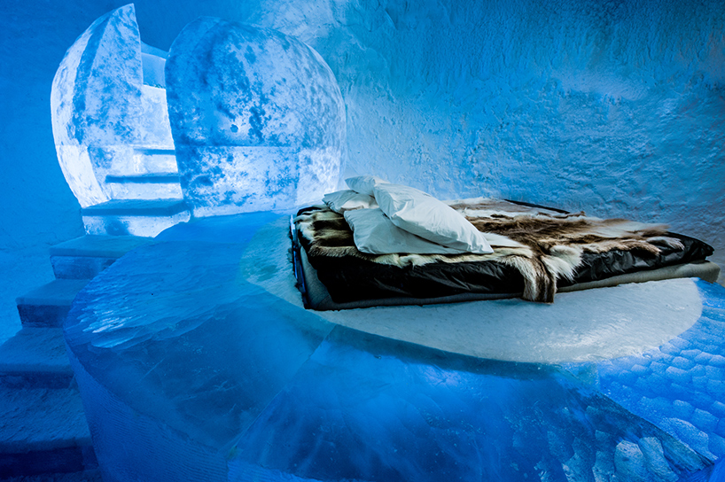 Icehotel 365  the worlds first permanent ice hotel  has opened to guests in sweden, 200 kilometers north of the arctic circle