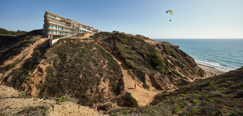 Arsuf residences into Israel's coastal terrain