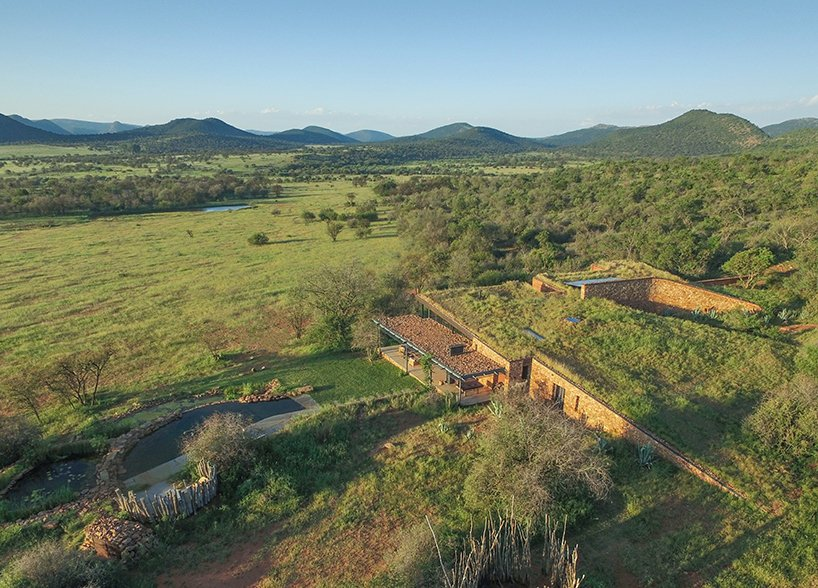 Witklipfontein eco lodge emerges from the earth in South Africa