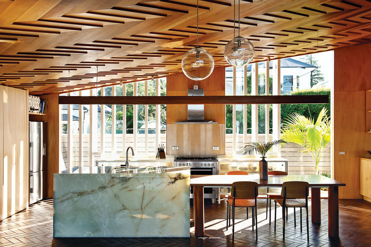 5 Striking and Unique Kitchen Islands