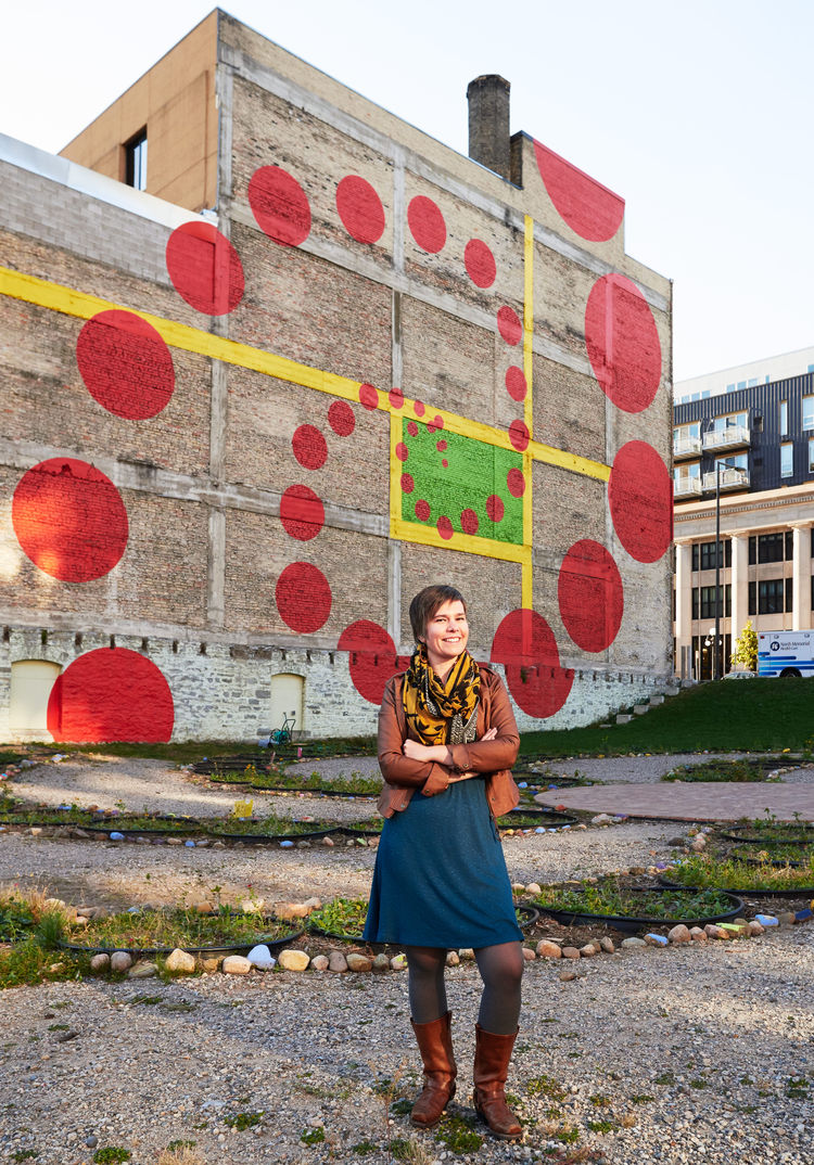 The Artist Using Playful Designs to Reimagine Public Space in the Twin Cities