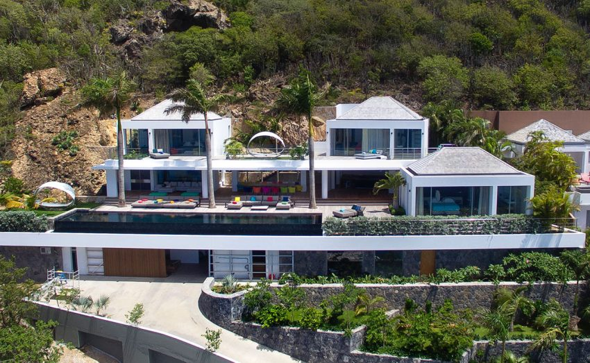 Erea & Architectonik Design a Luxurious Villa in Corossol Beach, Saint Barth
