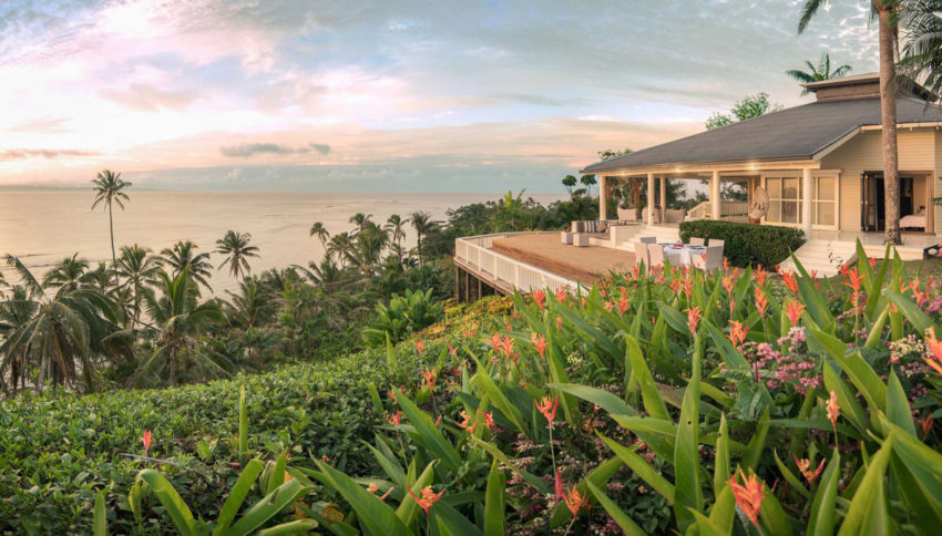 A Luxurious Villa on the Island of Taveuni, in Fiji