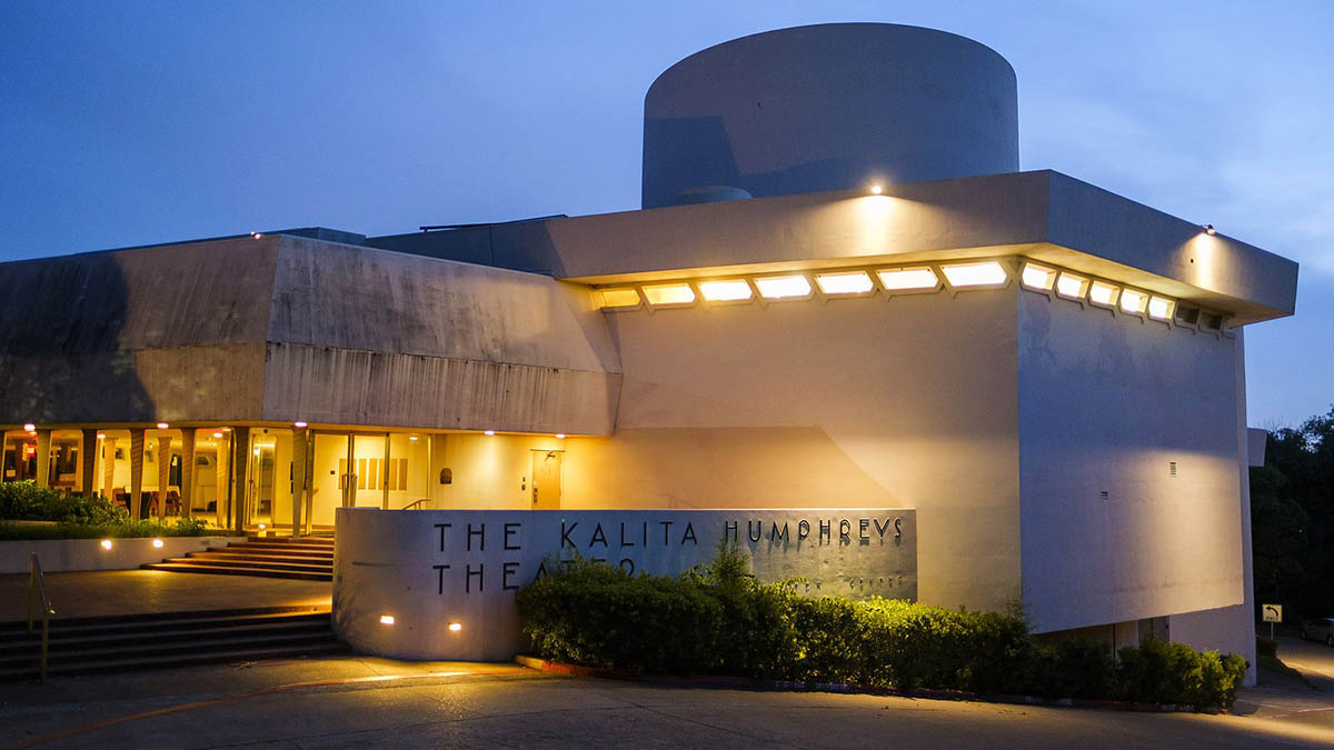Frank Lloyd Wright-designed Kalita Humphreys Theater in Dallas