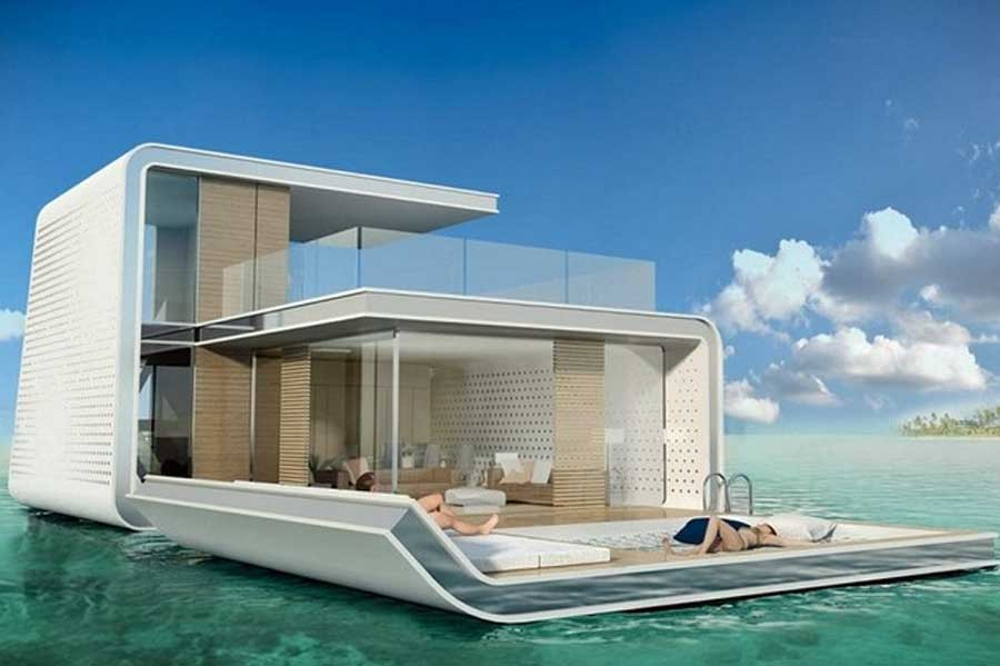 Underwater villas in Dubai