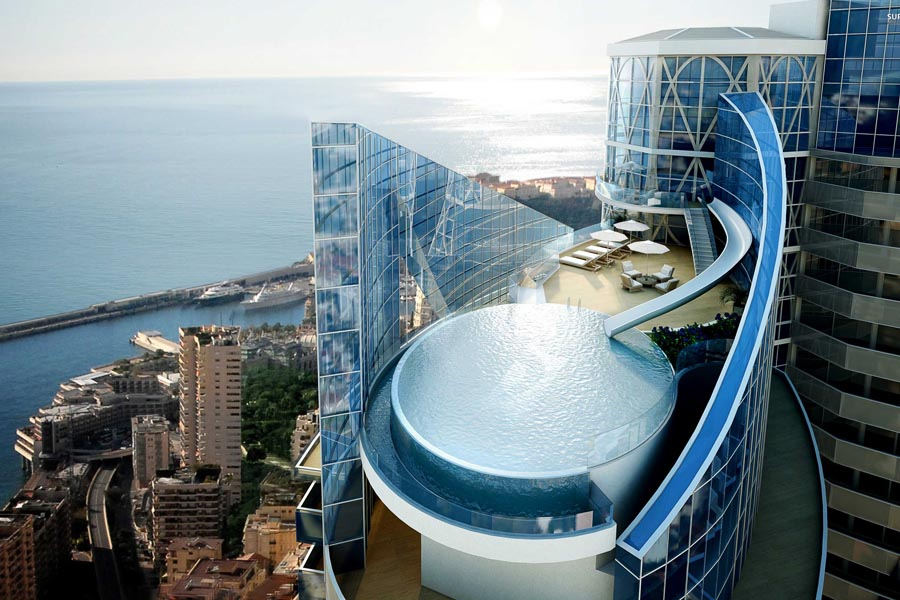Odeon Tower in Monaco