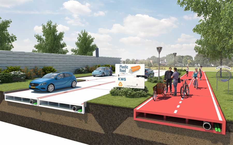 VolkerWessels plastic roads