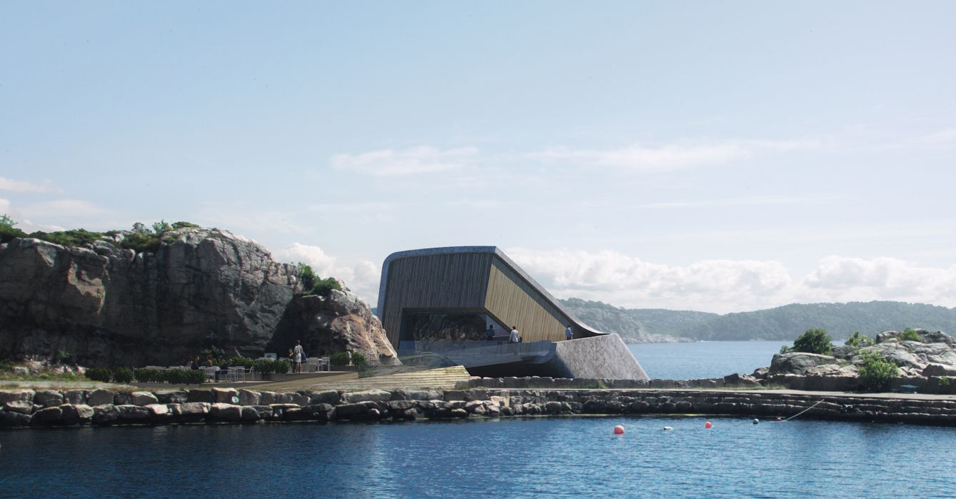 Europe's 1st underwater restaurant to open in Norway