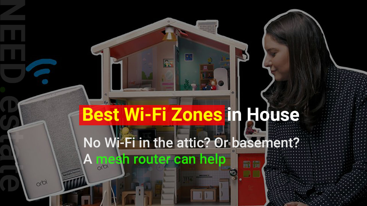 No Wi-Fi in the attic? Or basement? A mesh router can help