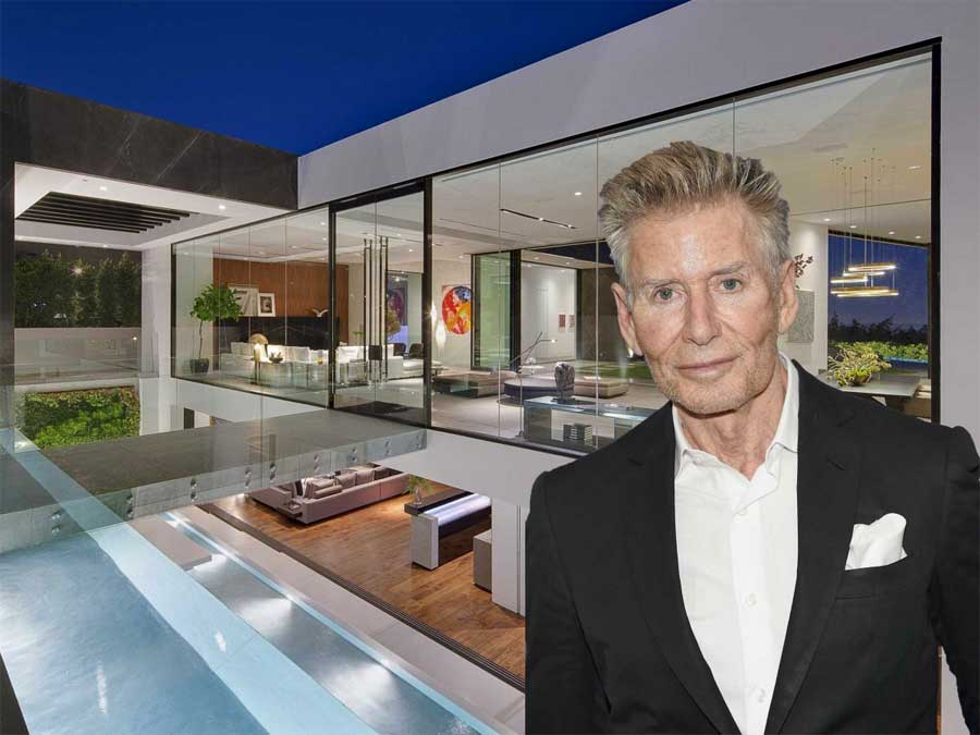Calvin Klein bought mansion in California