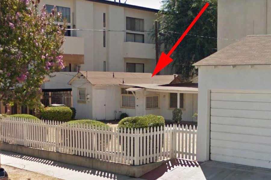 In Los Angeles was demolished house of Marilyn Monroe