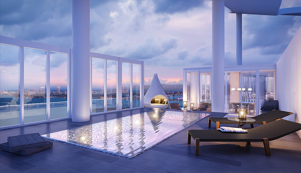 Edgewater's priciest condo available After topping off at 99-percent sold,Biscayne Beach is riding a wave of momentum as it sets to open in Edgewater later this year.
