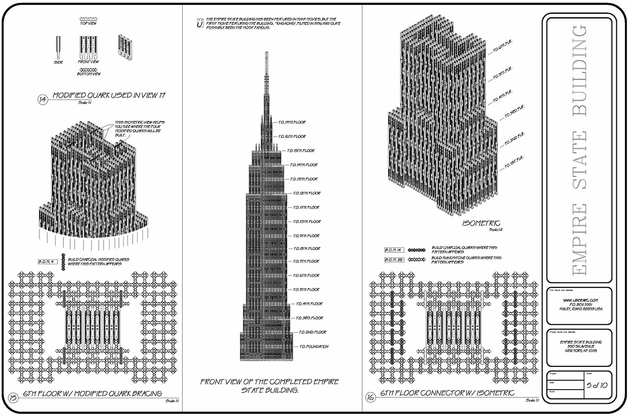 Empire State Building - plan