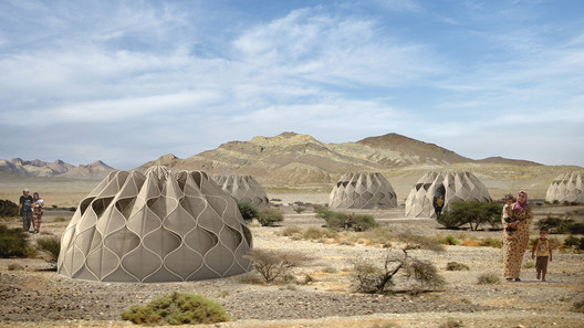 Abeer Seikaly's Structural Fabric Shelters Weave Refugees' Lives Back Together