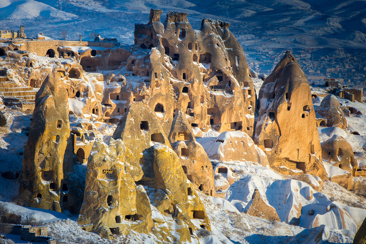 Cappadocia's Fairy Chimneys: A Collaboration Between Humans and Rocks