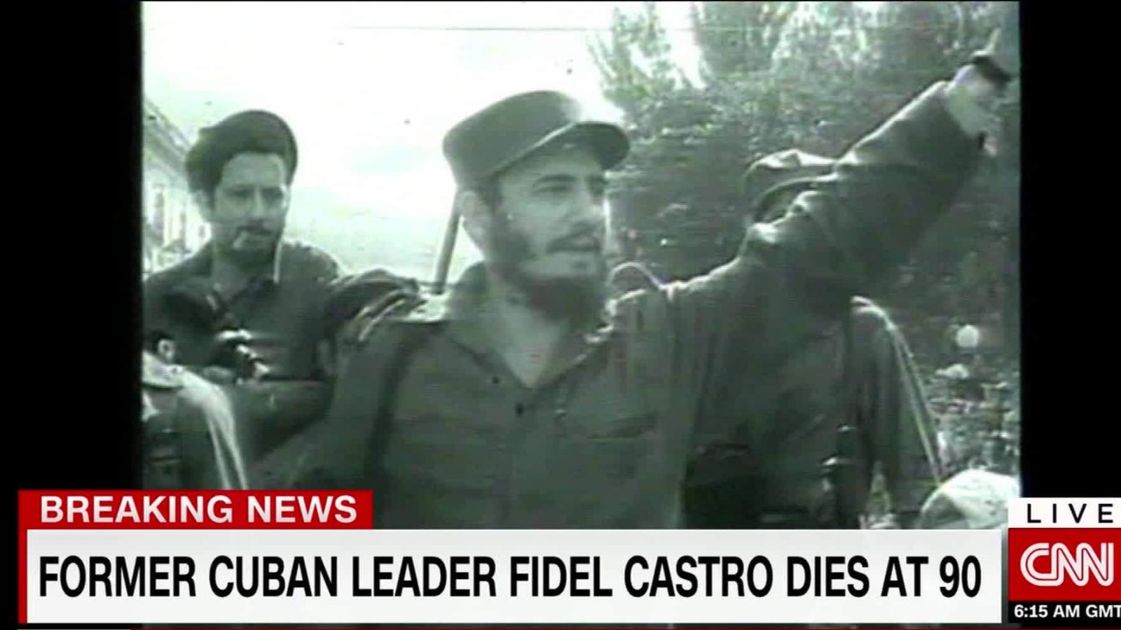 Cuban revolutionary icon Fidel Castro dies