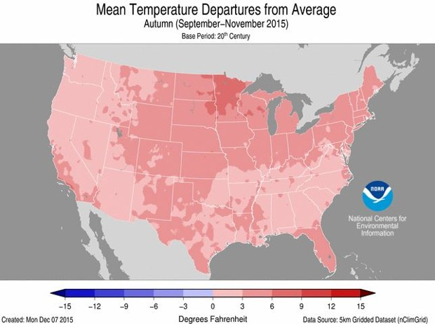 Warmer... Warmer... Warmest? 2015 in Climate Change