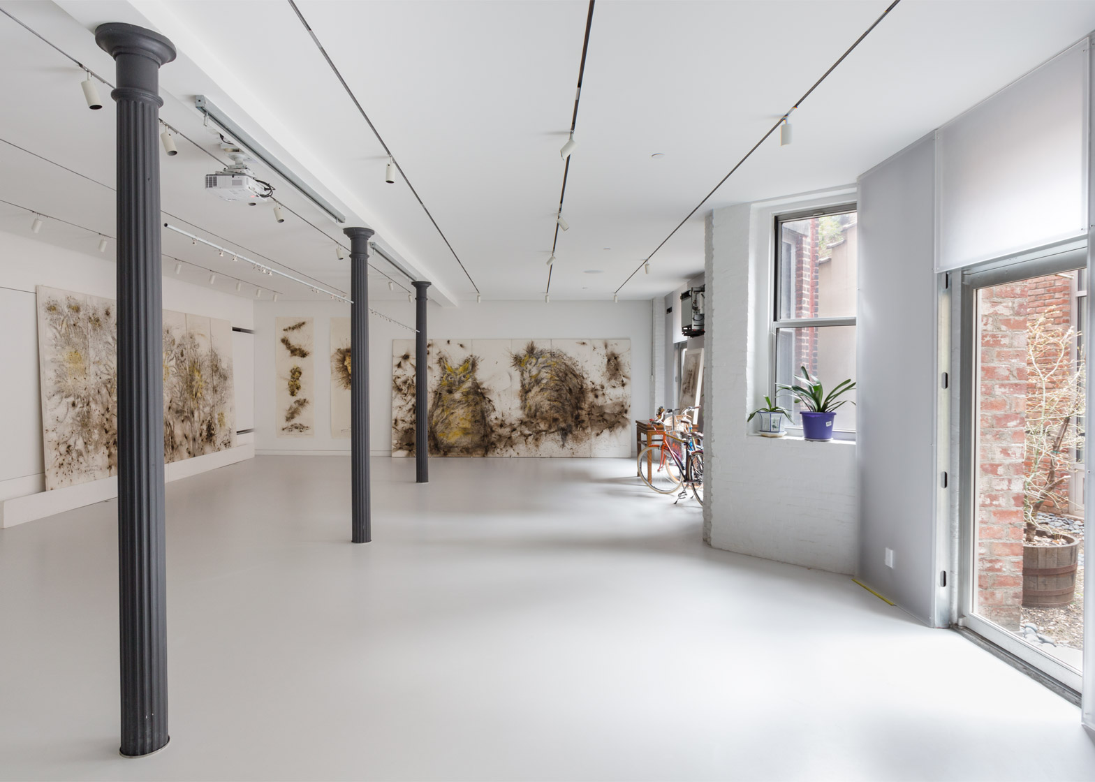OMA creates a light-filled New York studio for artist Cai Guo-Qiang