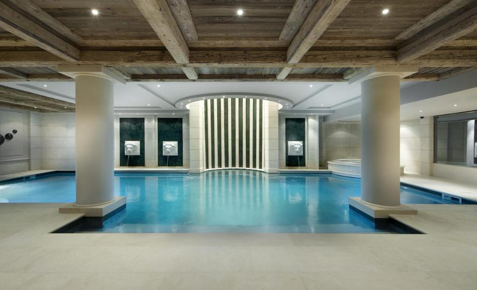 Chalet Edelweiss even has its own swimming pool (Credit: Alpine Guru)