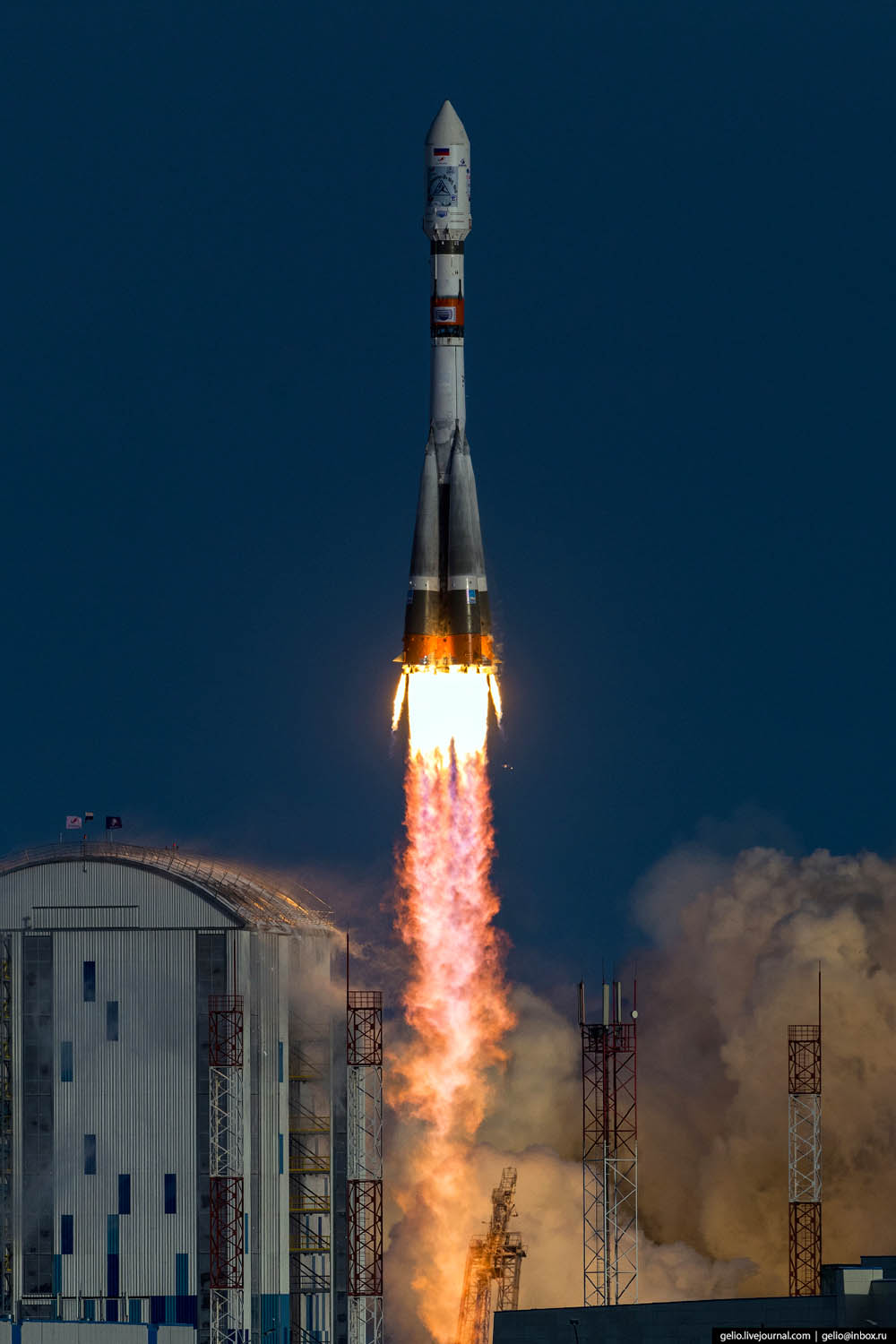'Soyuz-2' launch from 1st Russian civil cosmodrome