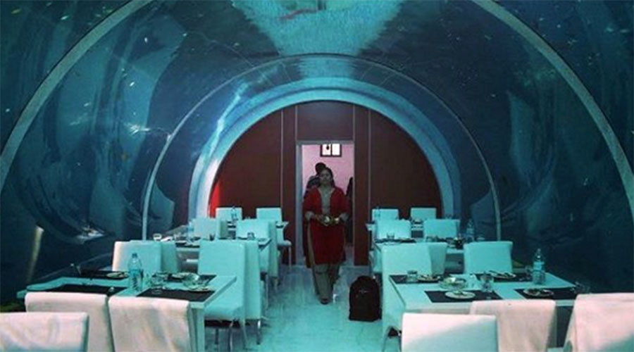 India's only 'underwater' restaurant shut for lack of permits