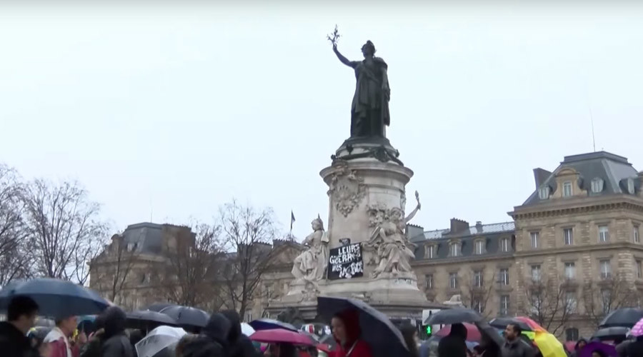 Thousands march to protest state of emergency in France