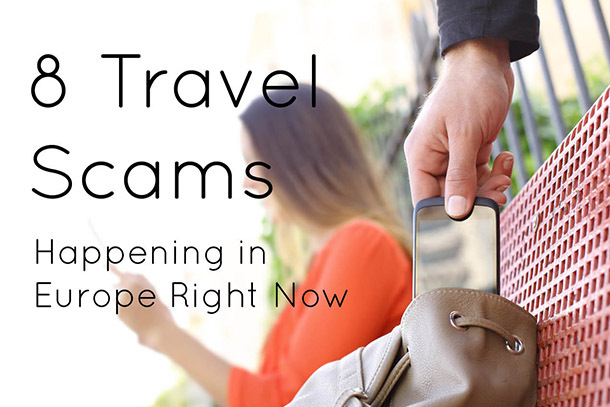 8 Most Common Travel Scams in Europe