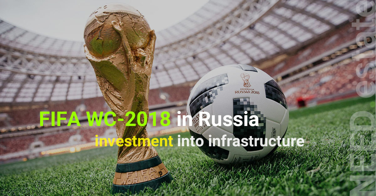 Russia has welcomed football fans from all over the world. FIFA World Cup-2018 matches will be held in 11 cities on 12 stadiums with new infrustructure