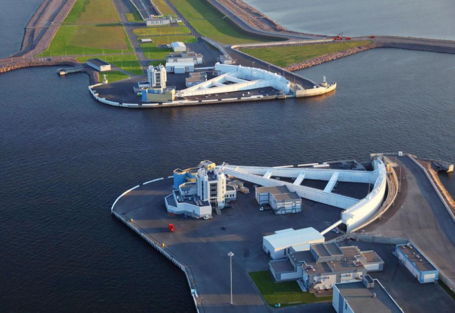 ворота подъемные балтийский петербург