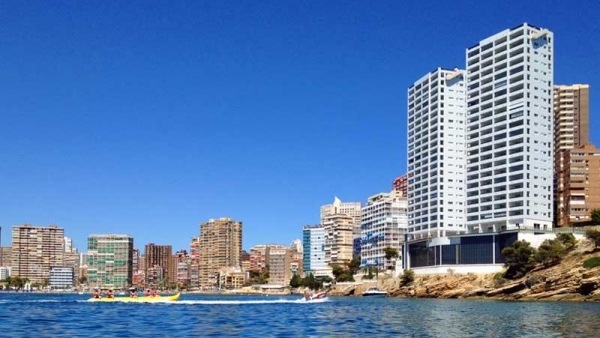Apartment, residential complex 'Gemelos 28' (Spain, Benidorm)