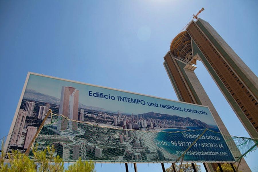 Edificio InTempo in Benidorm, Spain