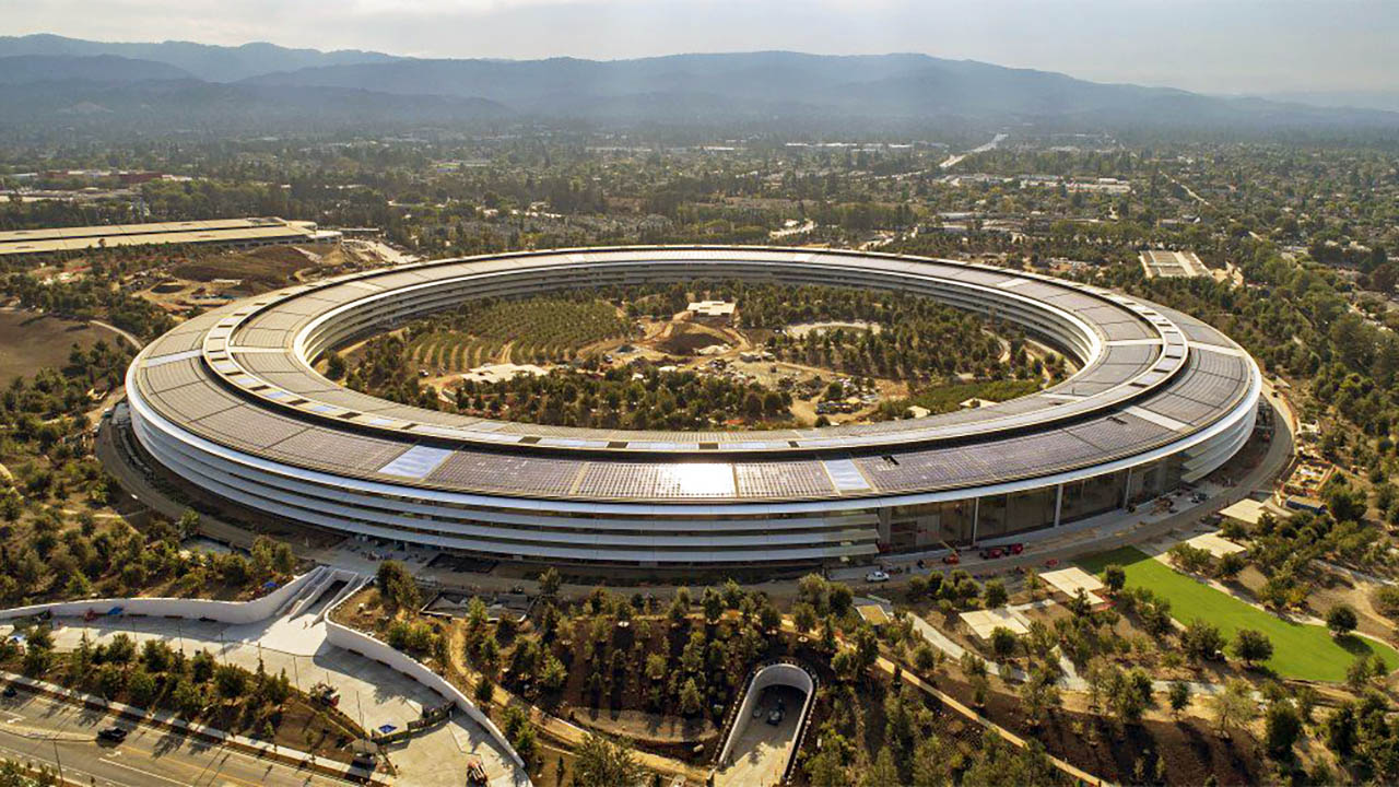 Apple Park in Cupertino, CA