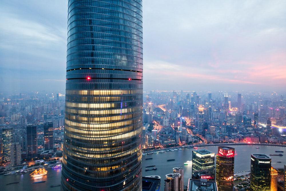 The 'Shanghai Tower', China