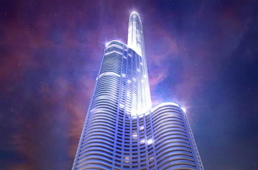 LODHA The 'World Towers' in Mumbai, India