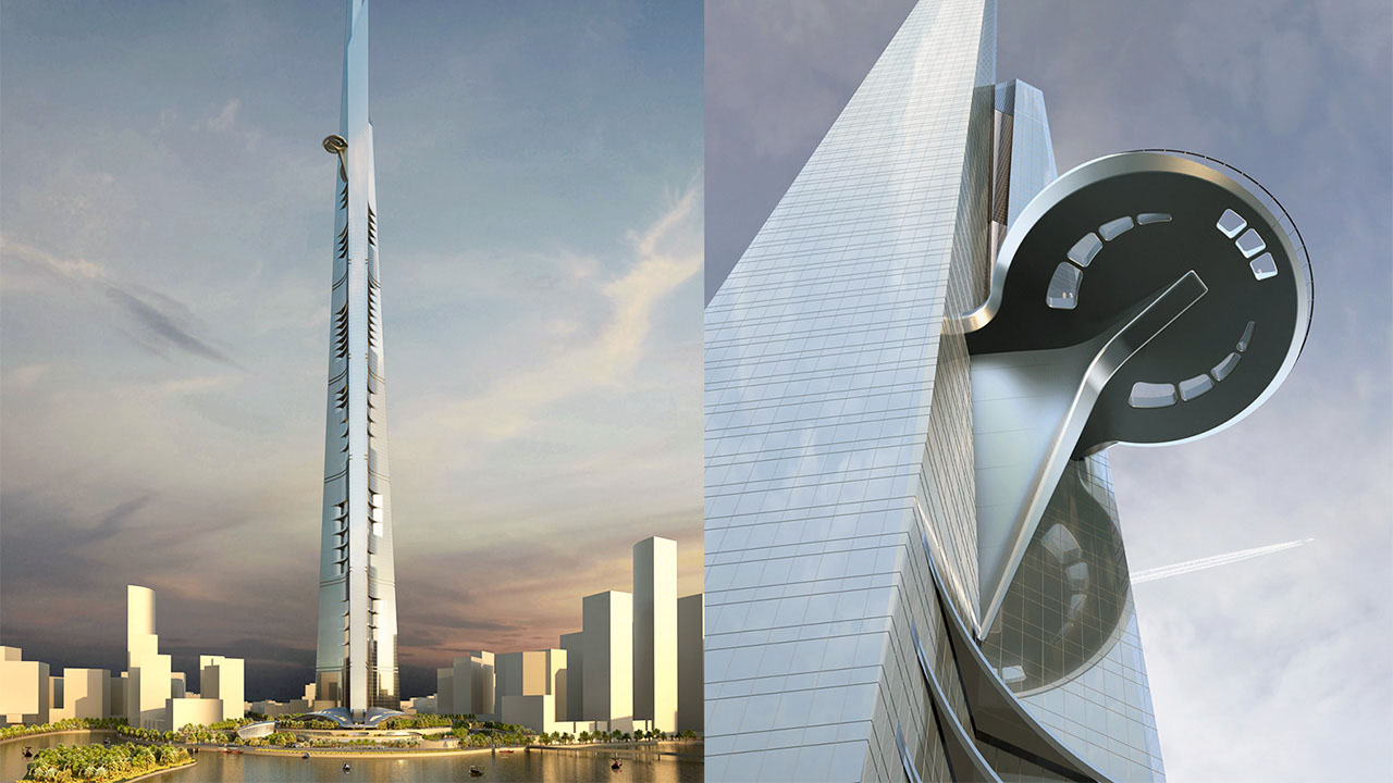 Jeddah (Kingdom) Tower, Saudi-Arabia