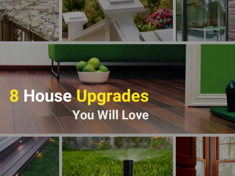 8 Low-Maintenance House Upgrades