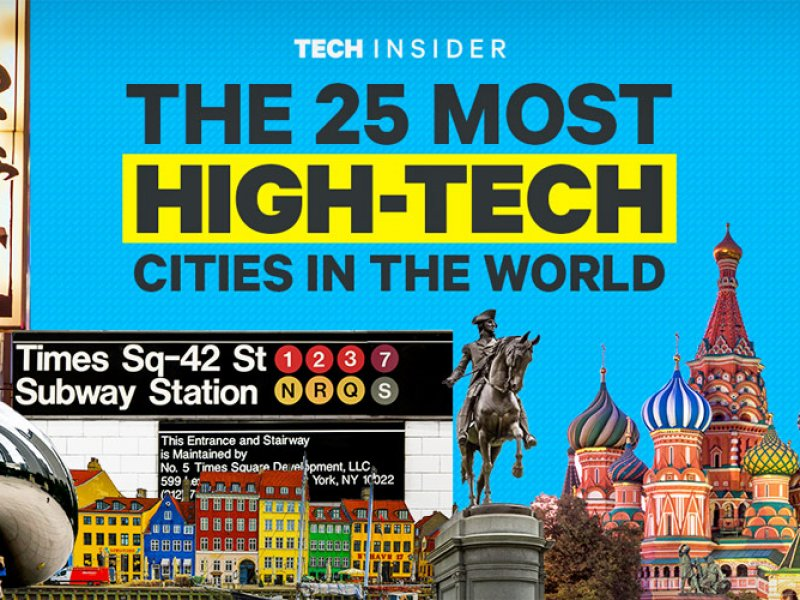 The 25 most high-tech cities in the World